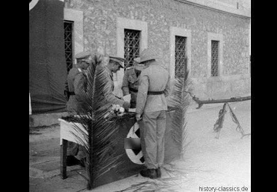 2. Weltkrieg Wehrmacht Heer Europa – Griechenland / Kreta Beförderungsappell