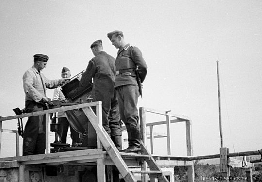 2. Weltkrieg Wehrmacht Luftwaffe Europa – Griechenland / Kreta Flakscheinwerfer