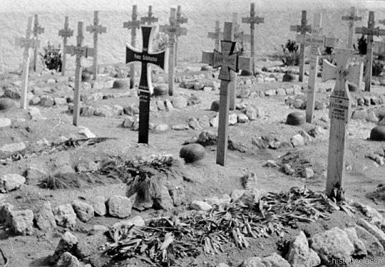2. Weltkrieg Wehrmacht Heer Europa – Griechenland / Kreta Kriegsgräber