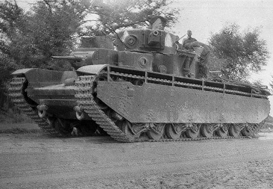 2. Weltkrieg Sowjetarmee / Rote Armee – Ostfront - Schwerer Panzer T-35