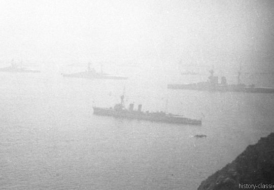 Royal Navy Flottenbesuch / Fleet Visit - Torquay Devonshire 1916