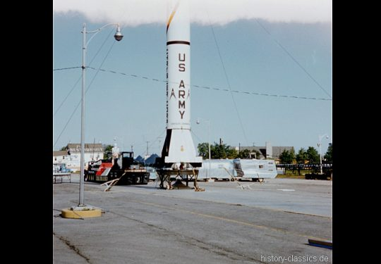 US ARMY / United States Army Ballistische Rakete Redstone / Ballistic Missile Redstone