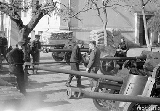 Wehrmacht Heer Panzerabwehrkanone PAK 40 75 mm / 7,5 cm