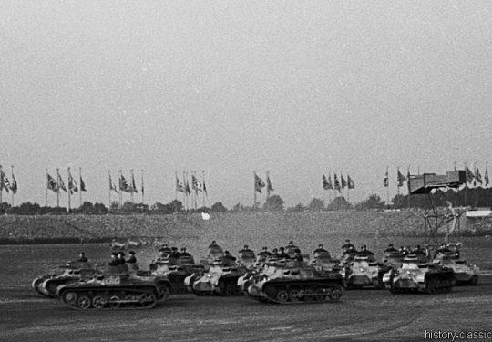 Wehrmacht Heer Panzerkampfwagen I PzKpfw I Panzer I Ausf. A - Nürnberg 1936