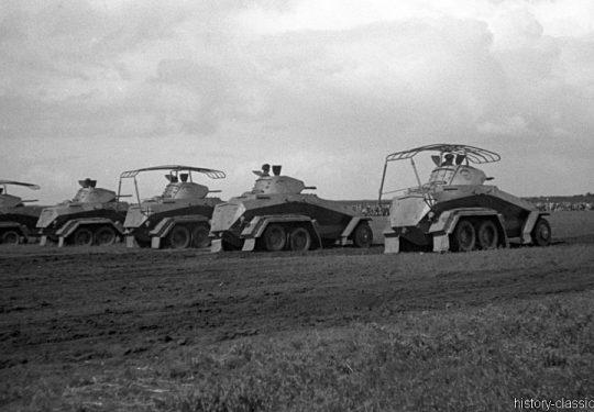 Wehrmacht Heer Schwerer Panzerspähwagen Sd.Kfz 231 / Schwerer Panzerspähwagen Funk (Fu) Sd.Kfz 232 - Münster 1935
