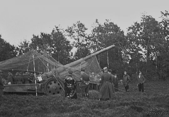 Wehrmacht Heer Schwere Feldkanone K16 / K 429 15 cm (Krupp) - Münster 1935