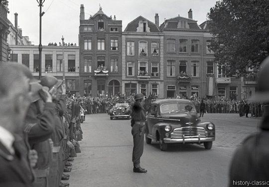 2. Weltkrieg Kanada Europa - Kanadische Armee / Canadian Army Armée Canadienne - Niederlande Apeldoorn / Netherlands Apeldoorn