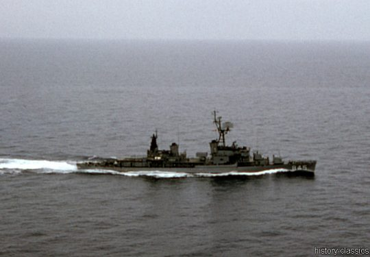 US NAVY / United States Navy Zerstörer Gearing-Klasse / Destroyer Gearing-Class - USS Bausell DD-845