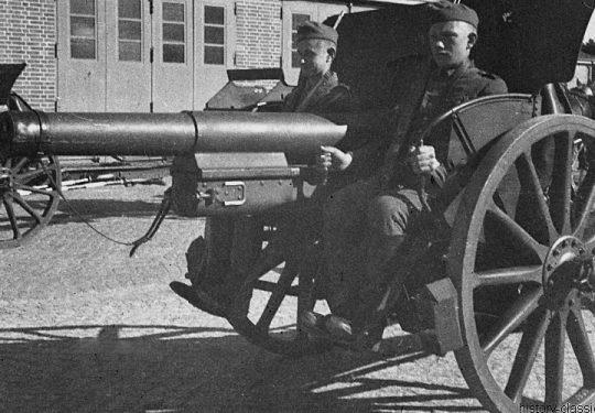 Wehrmacht Heer Feldkanone 16nA 7,5 cm