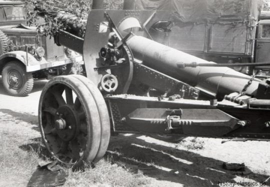 Wehrmacht Heer Schwere Feldkanone 390 12,2 cm - Ex Sowjetische Feldhaubitze M1931/37 (A-19)