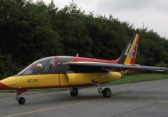 Belgische Luftwaffe / Belgian Air Force Dassault/Dornier Alpha Jet