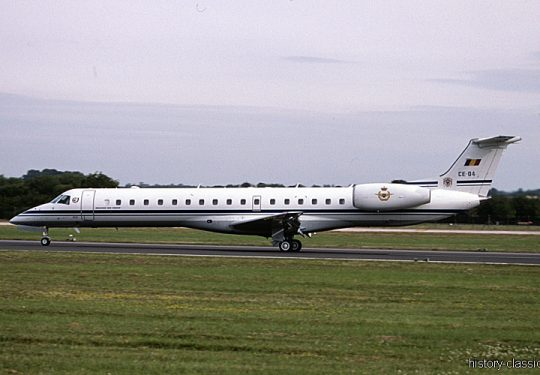 Belgische Luftwaffe / Belgian Air Force Embraer ERJ 145