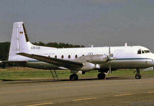 Belgische Luftwaffe / Belgian Air Force Hawker Siddeley HS-748
