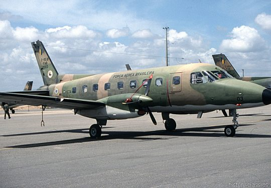 Brasilianische Luftwaffe / Força Aéra Brasileira Embraer C-95 Bandeirante