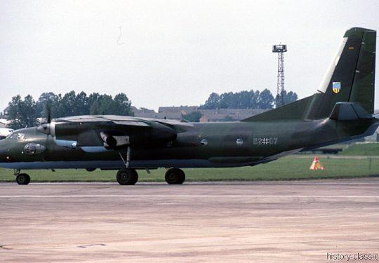 Bundeswehr Luftwaffe Antonov An-26 Curl