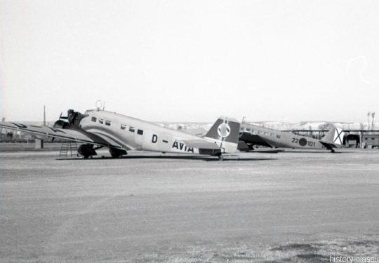 Junkers Ju 52 - D-AVIA Spanien 22 101