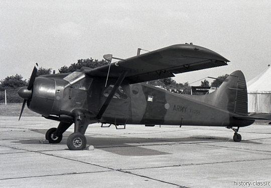 BRITISH ARMY de Havilland Canada DHC-2 Beaver
