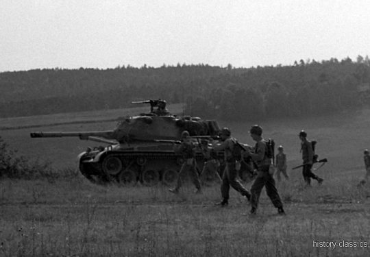 US ARMY / United States Army  Kampfpanzer M47 Patton
