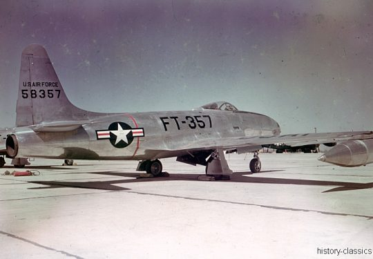 USAF United States Air Force Lockheed F-80C Shooting Star