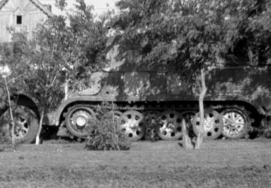 Wehrmacht Heer Krauss-Maffei Sd.Kfz 8 Halbkettenfahrzeug / Mittlerer Zugkraftwagen 12 t