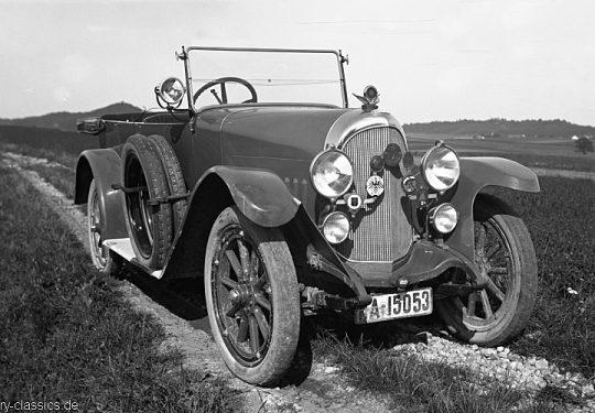 Stoewer D9 - Baujahr 1924 bis 1926
