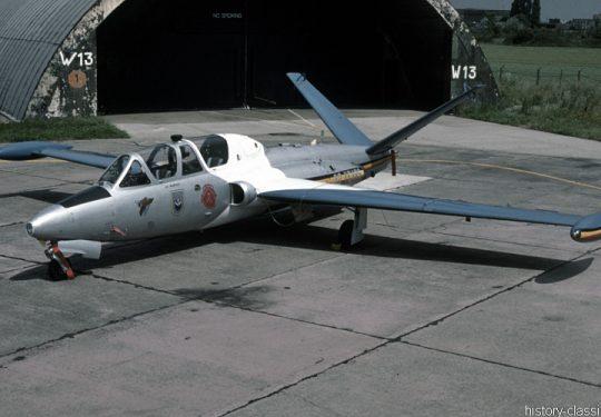 Belgische Luftwaffe / Belgian Air Force Fouga CM.170 Magister