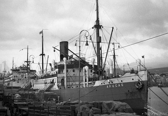 Deutsches Reich Frucht- und Passagierschiff Arucas