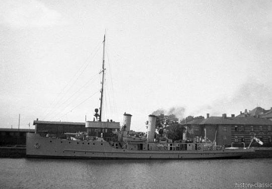 Deutsches Reich Reichsmarine Artillerieschulschiff Drache