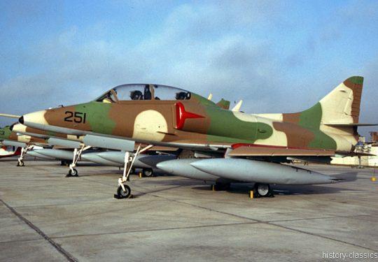Ex Israeli Air Force IAF Douglas TA-4J Skyhawk / Ahit