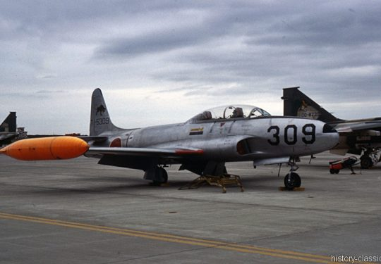 Japanische Luftwaffe JASDF Lockheed T-33A Shooting Star