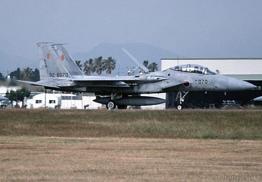 Japanische Luftwaffe JASDF Mitsubishi F-15DJ Eagle