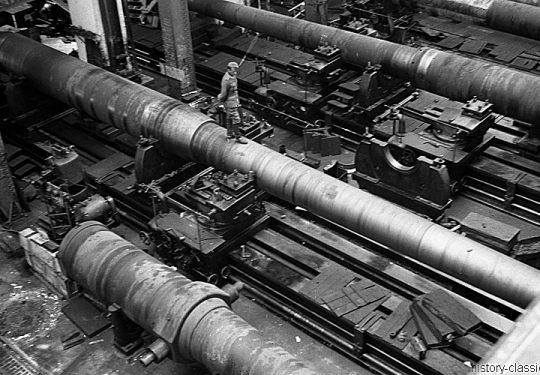 Rüstungsbetrieb Schneider & Cie Le Havre - Schneider-Fabriken / Schneider Usines