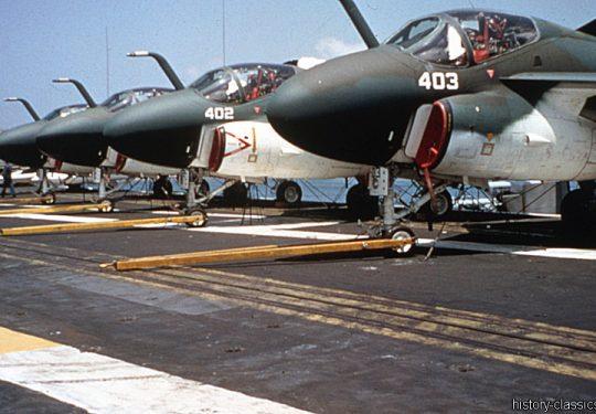US NAVY / United States Navy Grumman A-6A Intruder - 151823 NL403 & 151822 NL402