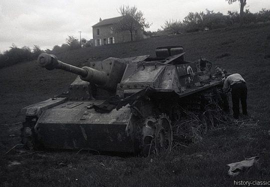 Wehrmacht Heer Sturmgeschütz III StuG III Ausf. G - Frankreich 1947