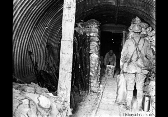 1. Weltkrieg Französisches Heer / French Land Forces (Army) / Armée de terre - Stellungskriege