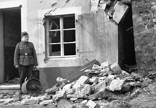 2. Weltkrieg Wehrmacht Heer Europa – Stellung Westwall 1939 - 9. Infanteriedivision 57. Infanterieregiment