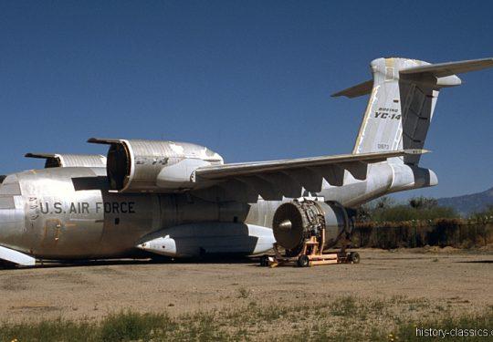 USAF United States Air Force Boeing YC-14