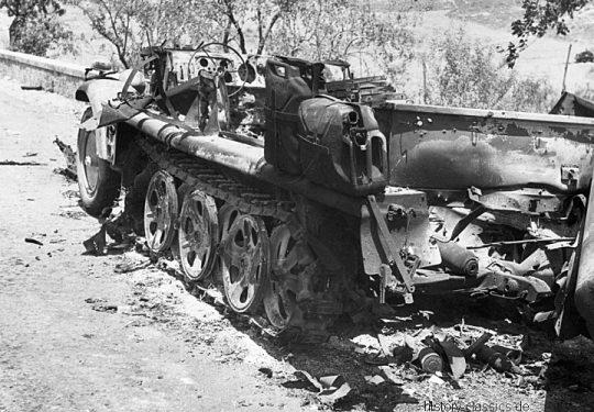 Wehrmacht Heer / Luftwaffe DEMAG Sd.Kfz 10 Halbkettenfahrzeug / Zugkraftwagen 1t
