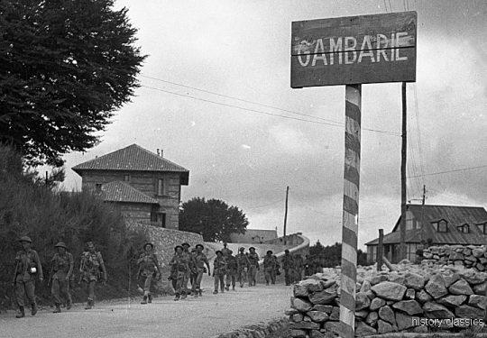 2. Weltkrieg Kanada Europa - Kanadische Armee / Canadian Army Armée Canadienne - Süditalien / Southern Italy