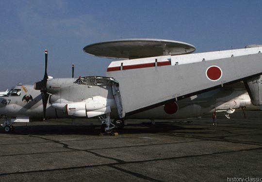 Japanische Luftwaffe JASDF Grumman E-2C Hawkeye