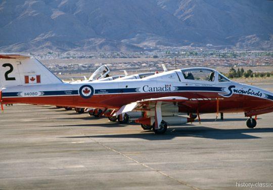 RCAF Royal Canadian Air Force Canadair CT-114 - Snowbirds