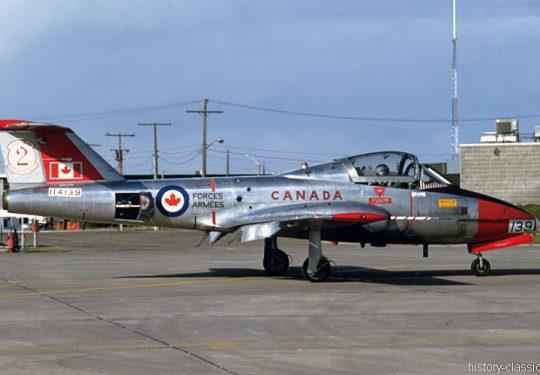 RCAF Royal Canadian Air Force Canadair CT-114 Tutor