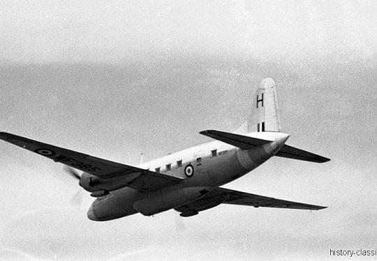 ROYAL AIR FORCE Vickers Varsity T1