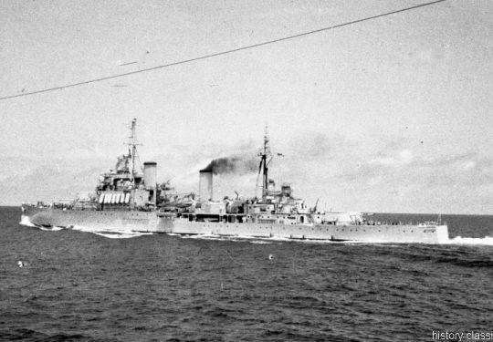 ROYAL NAVY Kreuzer Crown Colony-Klasse / Cruiser Crown Colony-Class - HMS KENYA