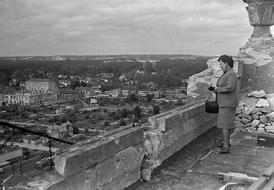 Ruinen Vitry-le-François ca 1920 - Ruins of Vitry-le-François 1920s