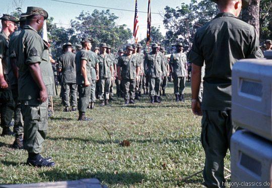 USA Vietnam-Krieg / Vietnam War - 25. US-Infanteriedivision / 25th Infantry Division - Hoc Mon 1968