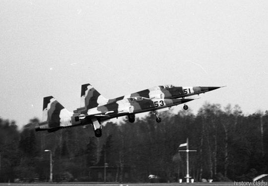 USAF United States Air Force Northrop F-5E Tiger / Aggressor