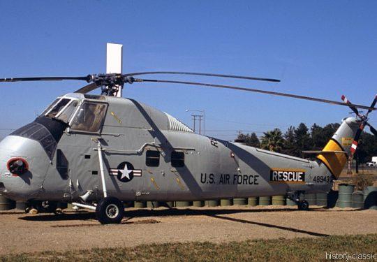 USAF United States Air Force Sikorsky HH-34J