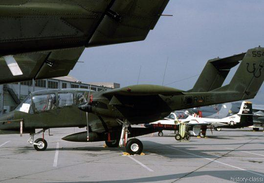 USMC United States Marine Corps North American Rockwell OV-10A Bronco