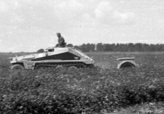 Wehrmacht Heer Halbkettenfahrzeug Schützenpanzerwagen / Transportwagen Sd.Kfz. 250/6 Ausf. A